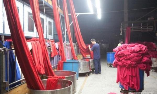 industria textil y contaminación